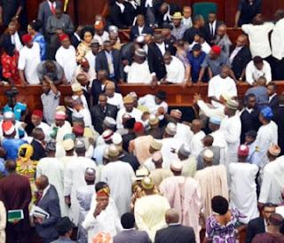 Fuel Hike: Reps In Rowdy Session, Blocks Kachikwu From Plenary