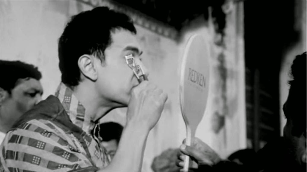 Curly Eyelashes of PK Aamir Khan