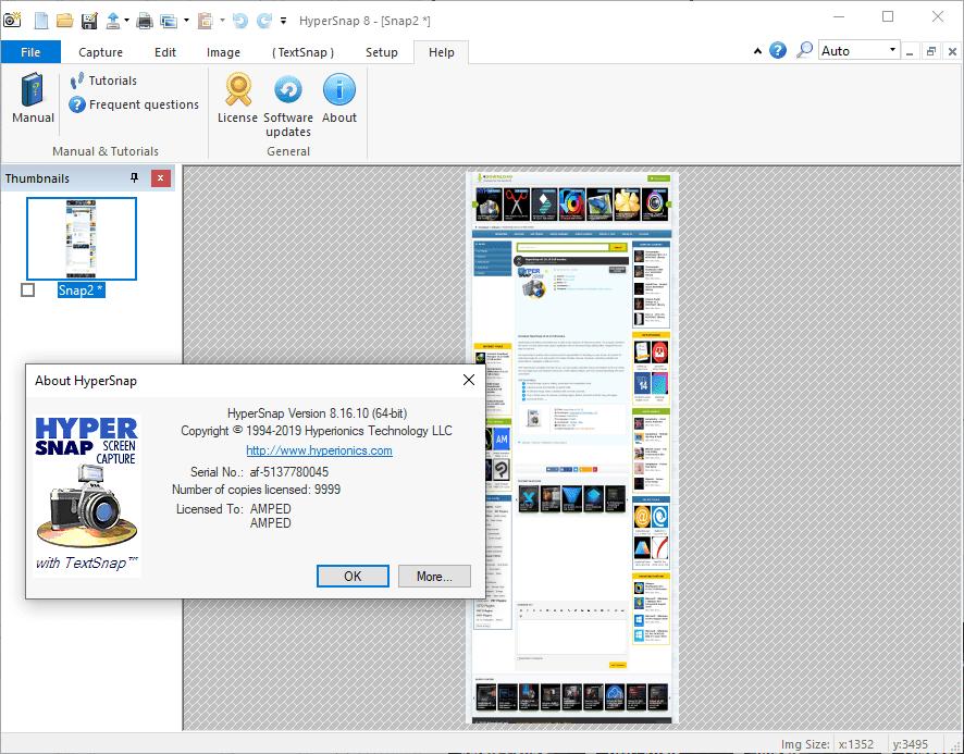 HyperSnap v8.16.15 Full version