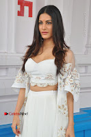 Telugu Actress Amyra Dastur Stills in White Skirt and Blouse at Anandi Indira Production LLP Production no 1 Opening  0019.JPG