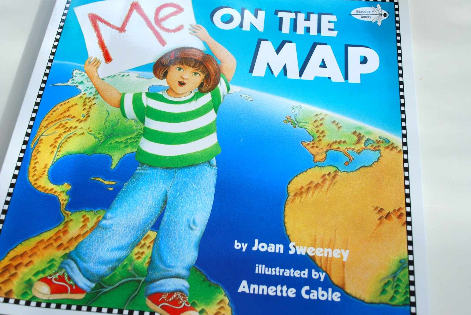 Our Creative Day Me On The Map