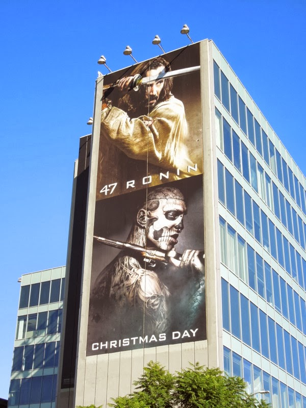 Giant 47 Ronin movie billboard