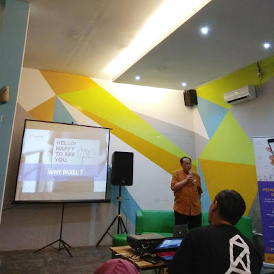 Pendiri Paxel presentasi tentang value