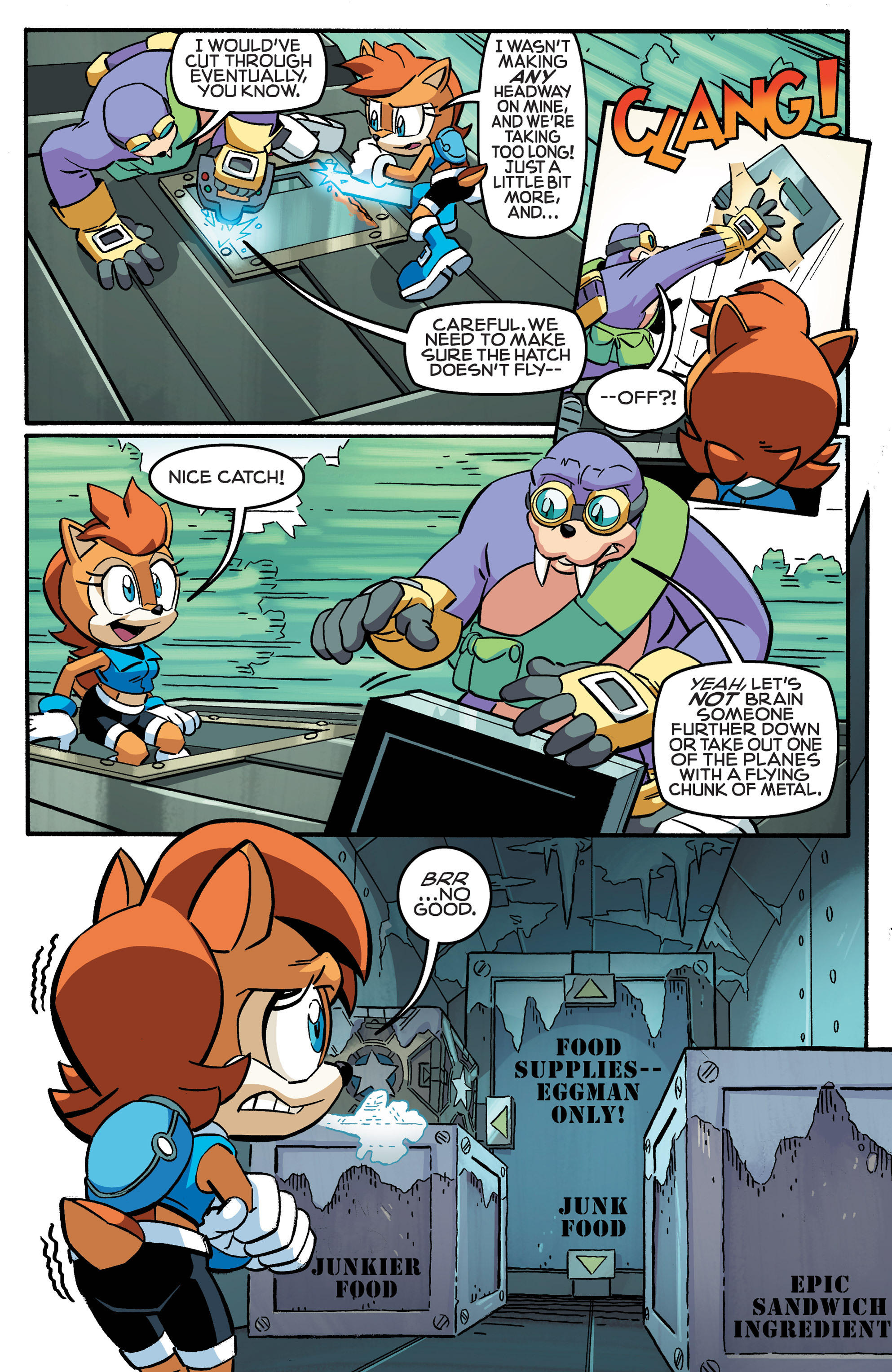 Read online Sonic The Hedgehog comic -  Issue #258 - 14