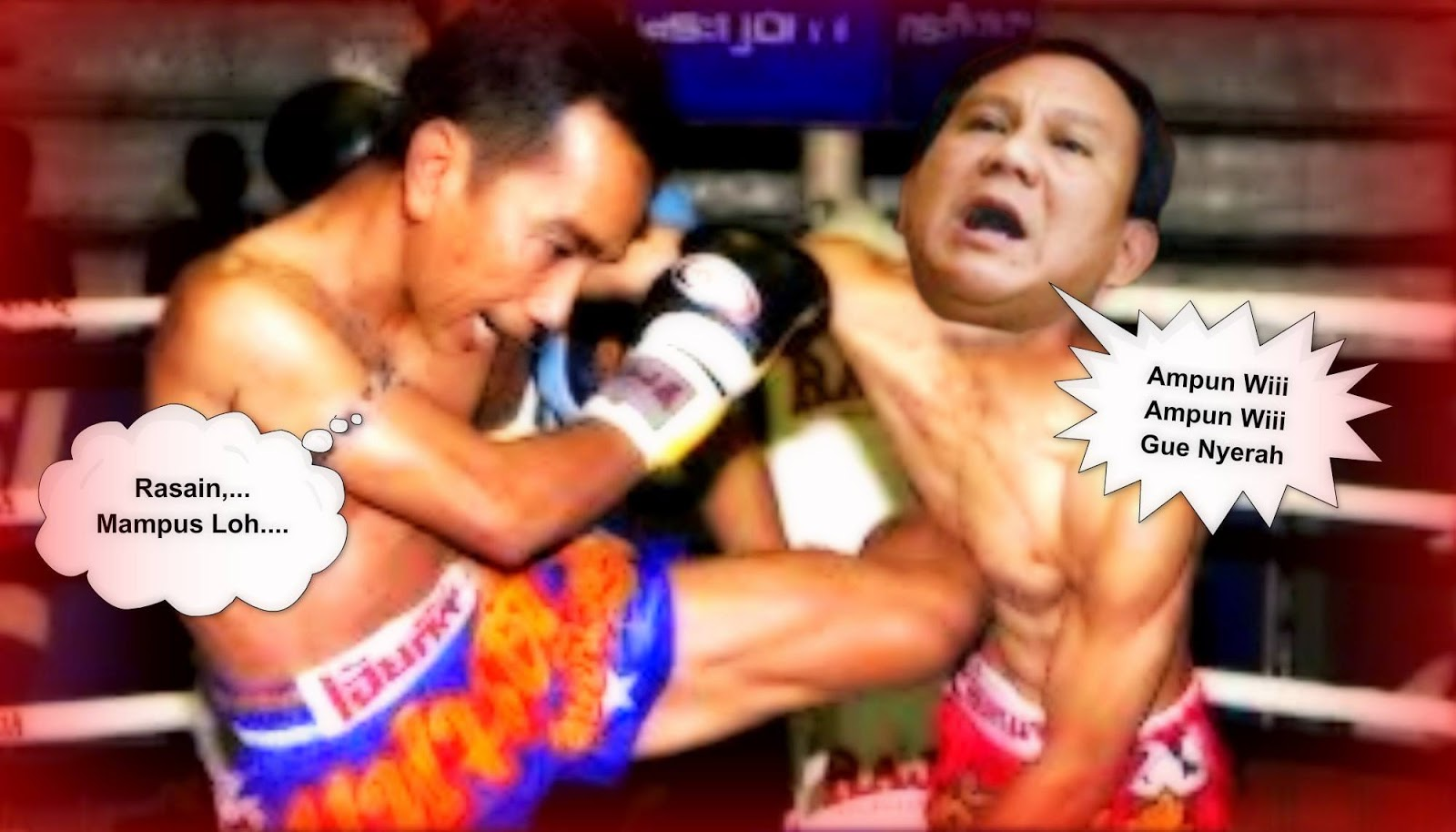 Kumpulan Foto Lucu Prabowo Vs Jokowi Download Tips Trik Gratis