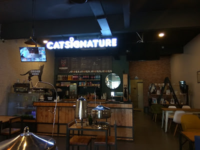 cat signature, cat signature cafe and studio, cat signature bangi, bangi, bandar baru bangi, cat studio. cat cafe