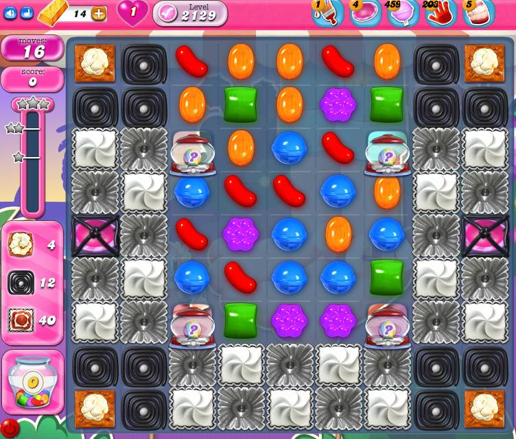 Candy Crush Saga level 2129