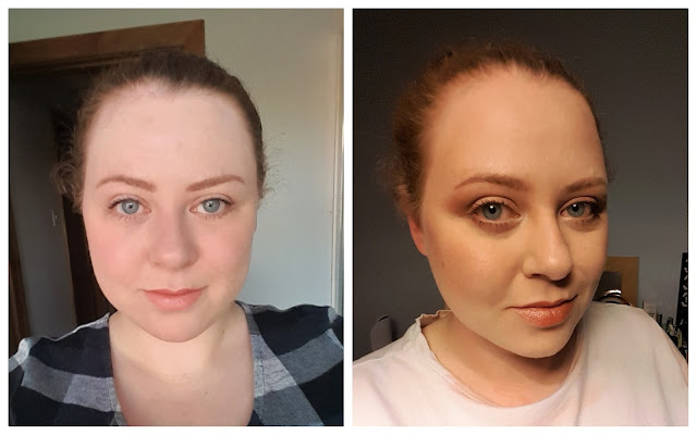 Daily Makeup Routine: Then vs Now