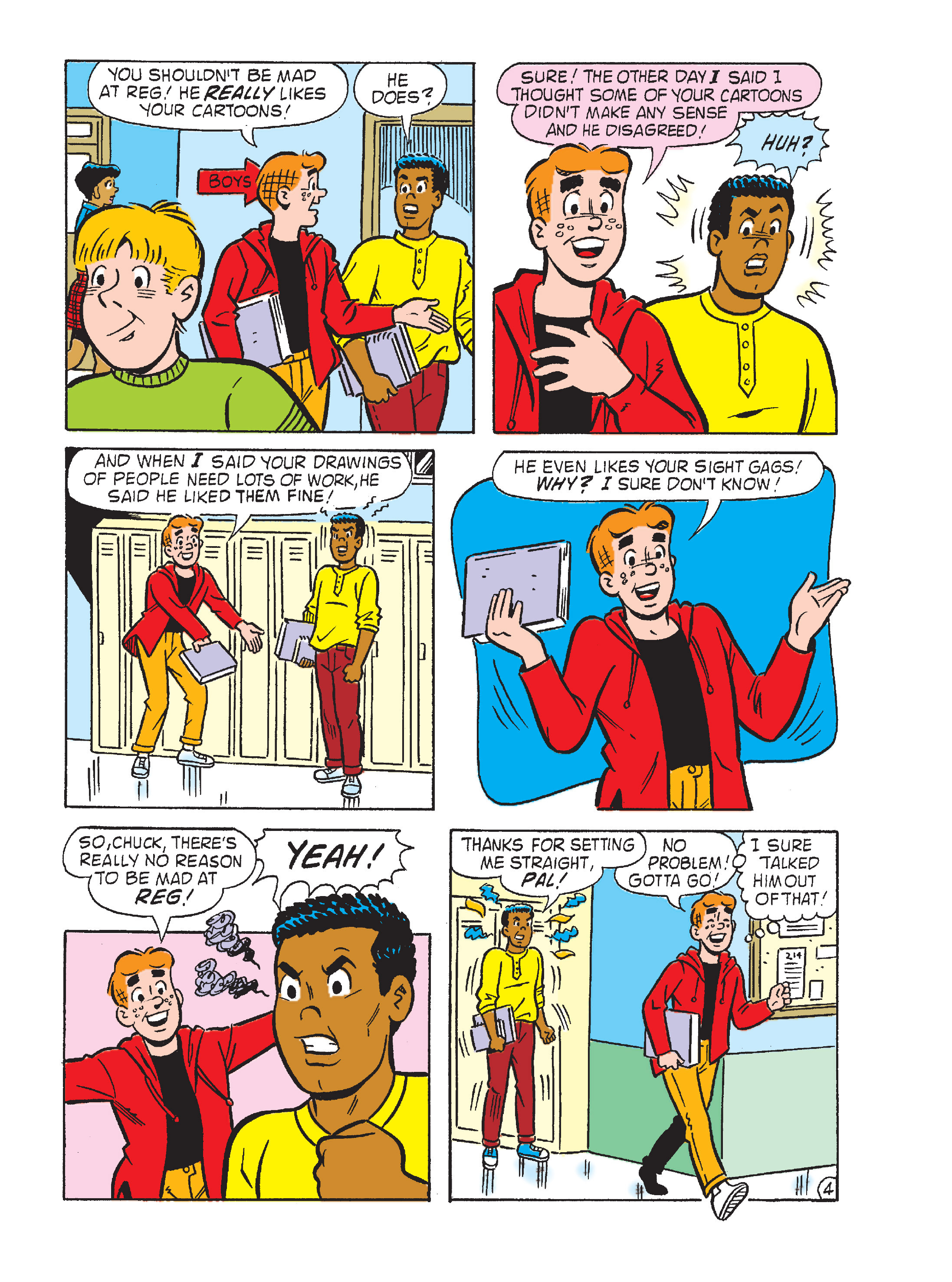 Read online Archie's Funhouse Double Digest comic -  Issue #15 - 157