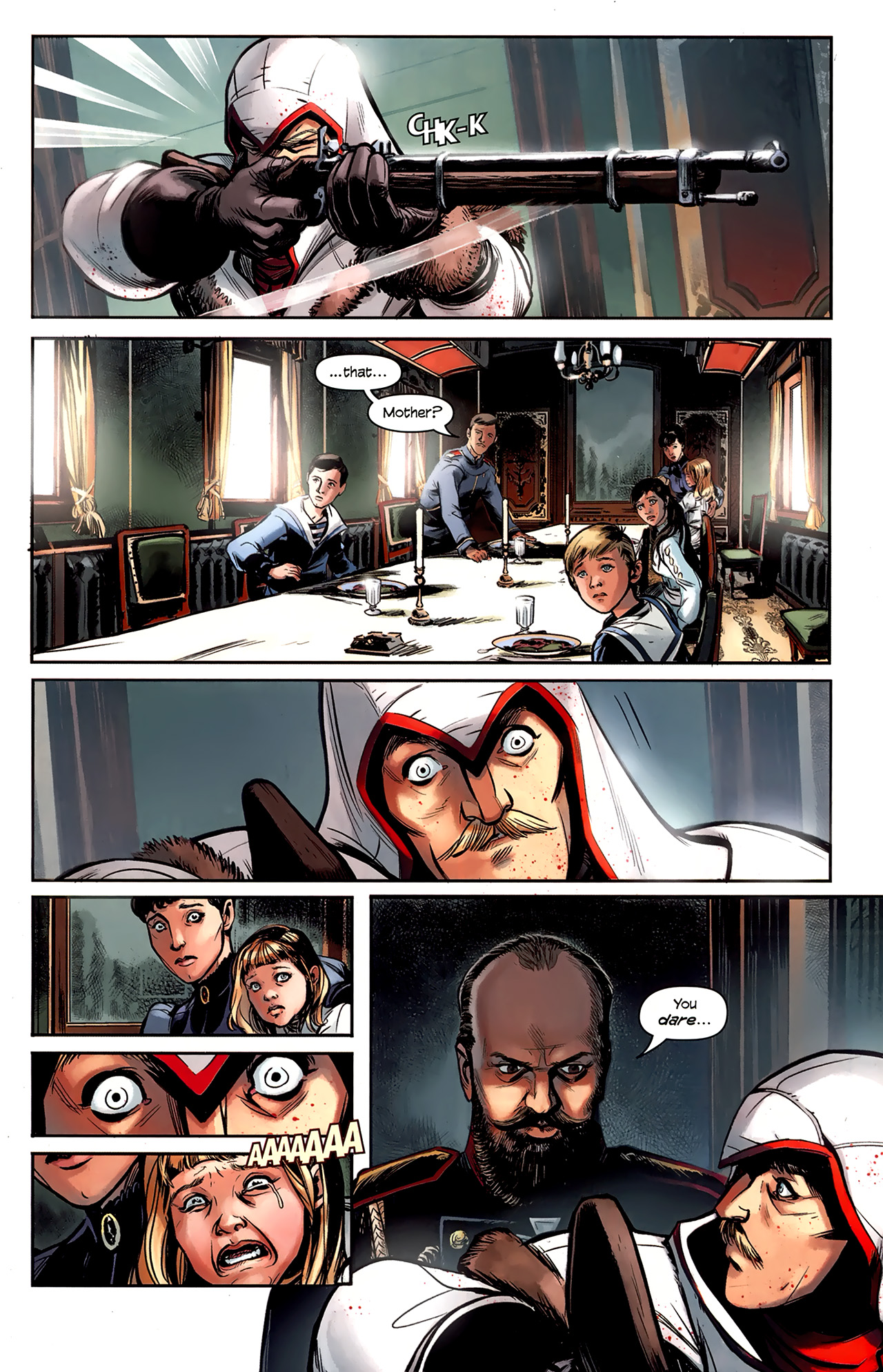 Read online Assassin's Creed: The Fall comic -  Issue #1 - 15