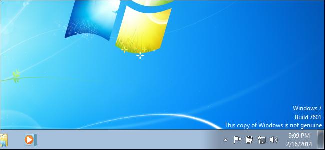 Windows Not Genuine