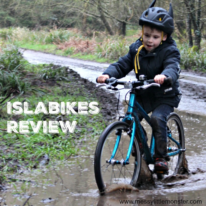 Islabikes Beinn 20 Review- a lightweight easy to ride children's bike. The perfect bike for learning to ride a bike without stabilisers