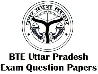 BTEUP Polytechnic Question Paper PDF Download BTE Uttar