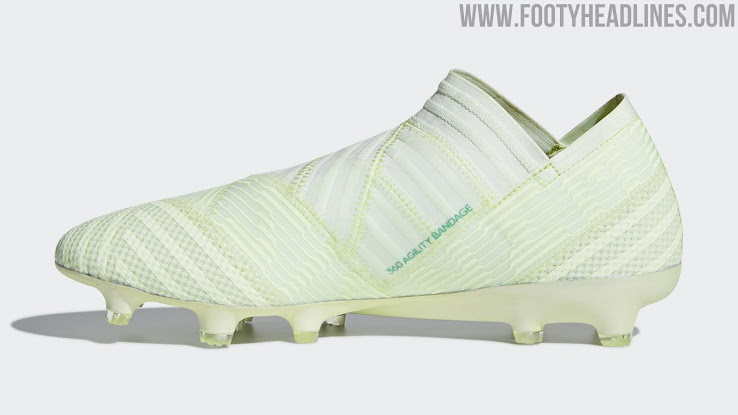 big sale 735a6 a2ac2 Inspired by the most deadly predators of the jungle, the Adidas Nemeziz  Deadly Strike boots combine two vibrant and garish shades of green and  turquoise in ...