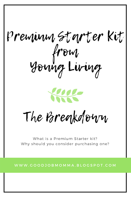 Premium Starter Kit from Young Living | The Breakdown