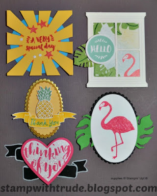 Pop of Paradise, Card Candy, Stamp with Trude, Stampin' Up!
