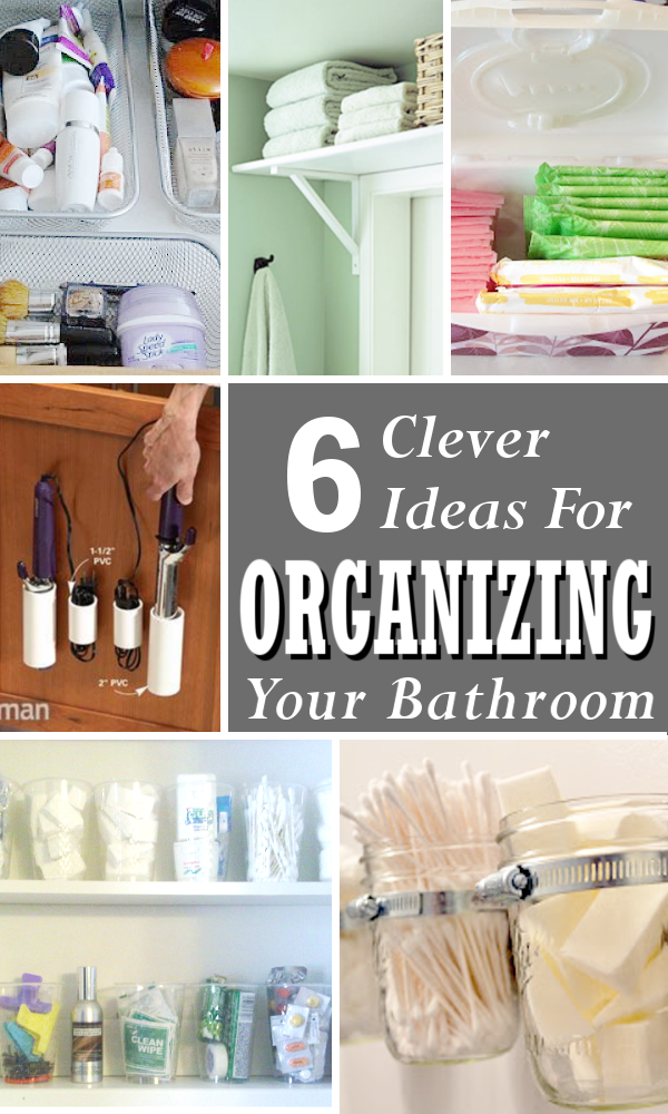 Diy Home Sweet Home Organizing Tips For The Bathroom