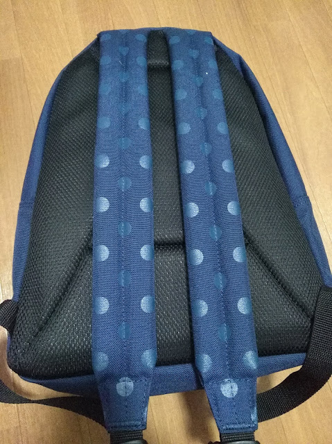 Manhattan Portage Dot Print Big Apple Backpack JRの背面
