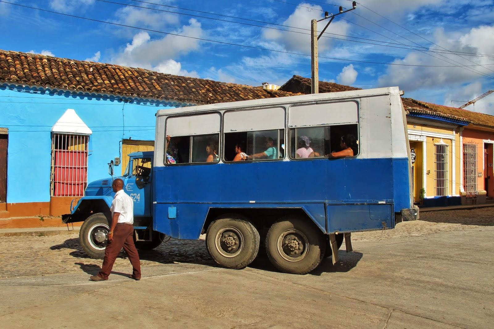 Rodoviária de Trinidad no Centro histórico de Trinidad, em Cuba.