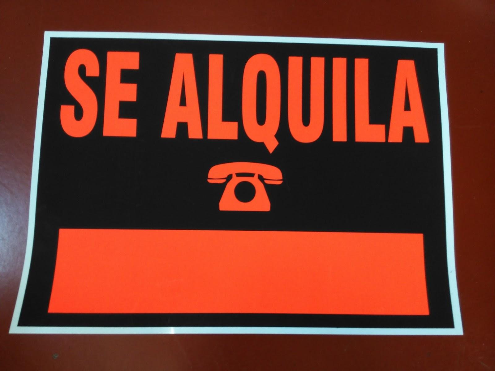 Fotocopias baratas carteles se vende se alquila baratos - Alquiler de pisos baratos en madrid por particulares ...
