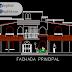 مخطط مسكن عائلي كبير دوبلكس 2 اوتوكاد dwg