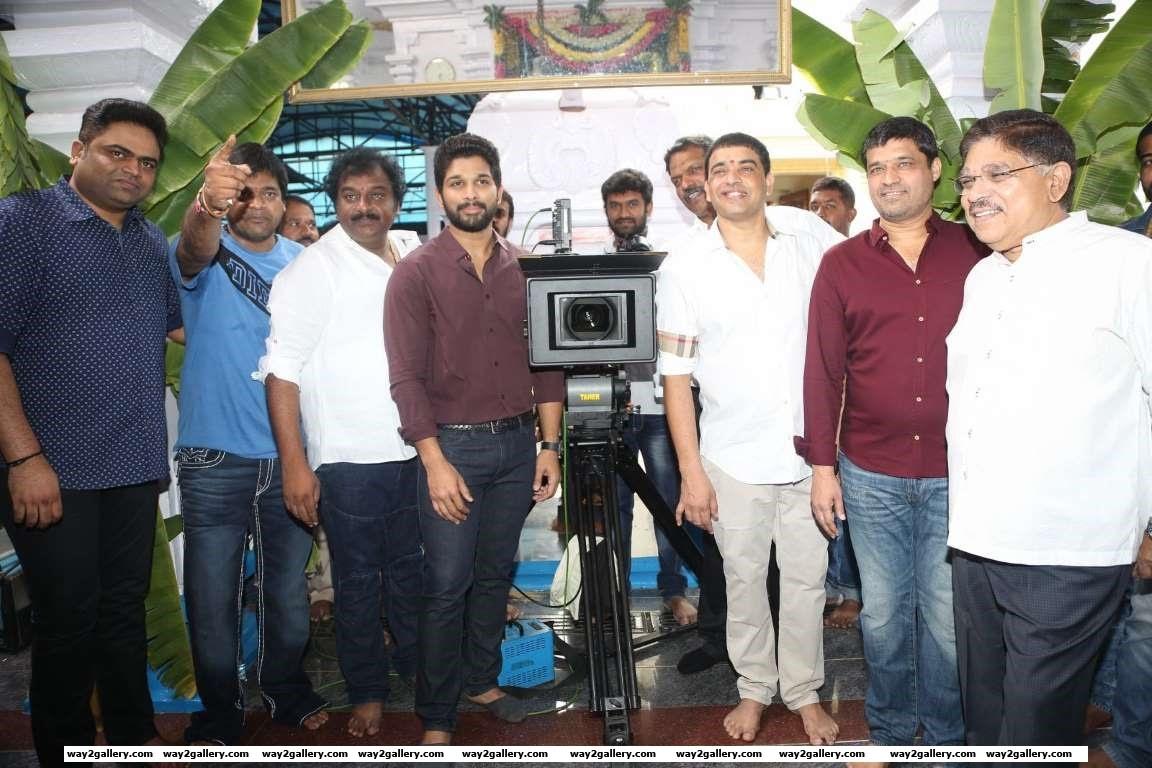 Allu Arjuns upcoming Telugu project Duvvada Jagannadham was launched last week