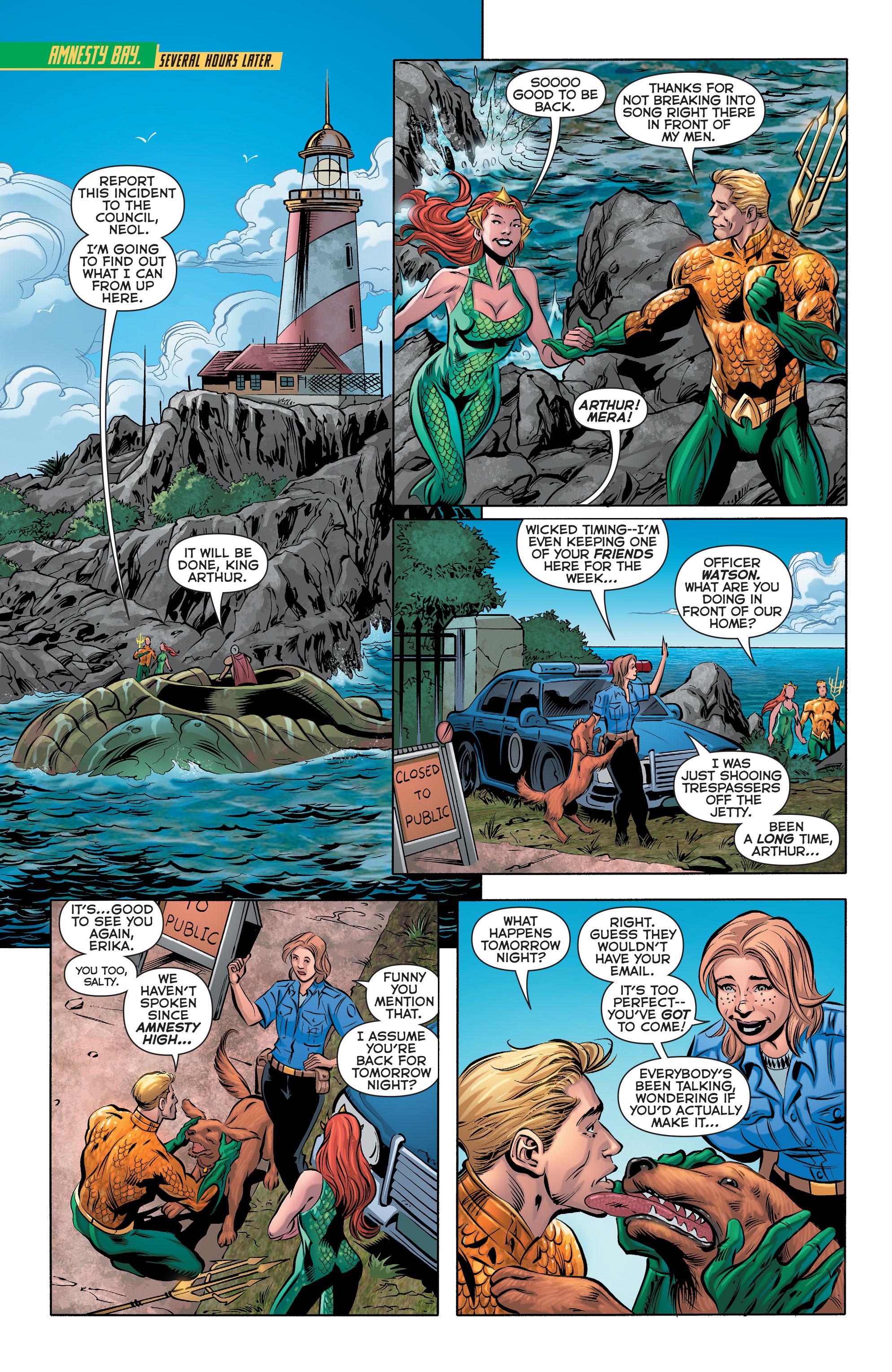 Read online Aquaman (2011) comic -  Issue #28 - 9