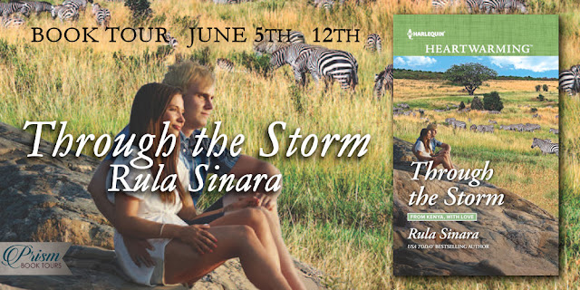 Through the Storm by Rula Sinara – Excerpt + Giveaway
