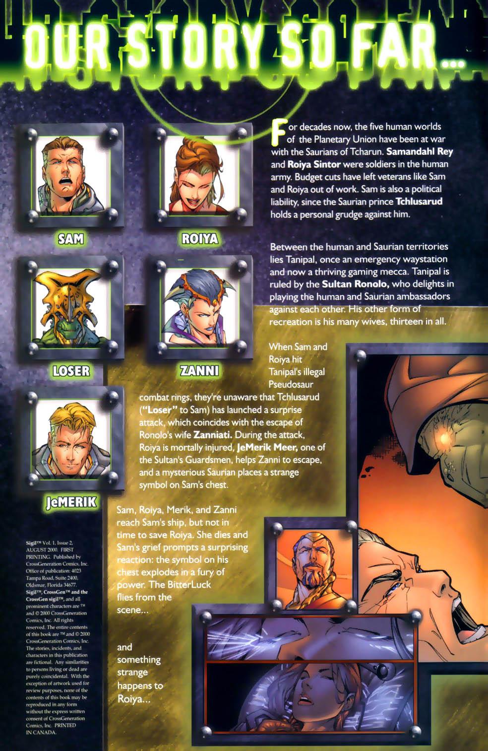Read online Sigil (2000) comic -  Issue #2 - 2