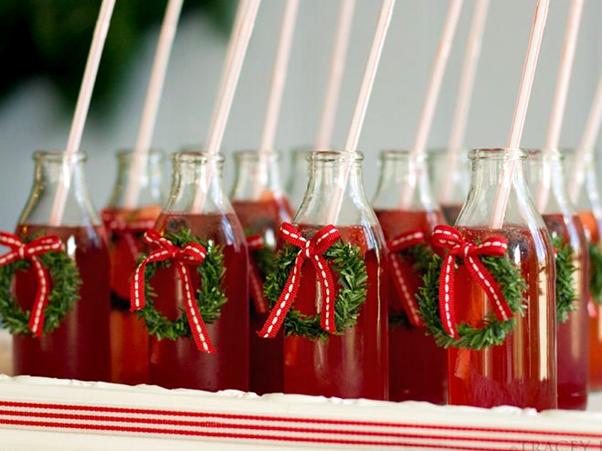 Ideias de Comidinhas Simples e Fáceis para o Natal Suco