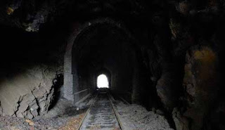أشباح نفاق سكك الحديد المسكون