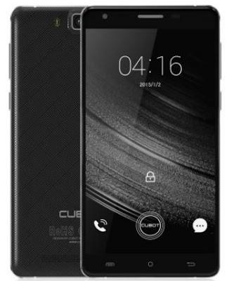 Ilustrasi Gambar Hp Android Baterai 6000 mAh Merek Cubot H3