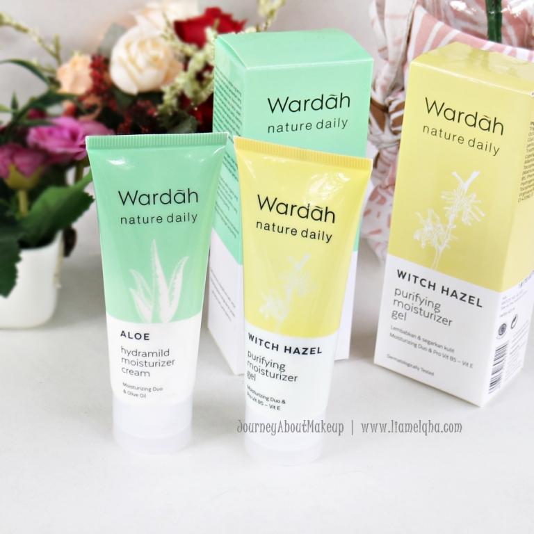 Review Wardah Aloe Hydramild Moisturizer Cream Untuk Kulit Berjerawat  Terbaik
