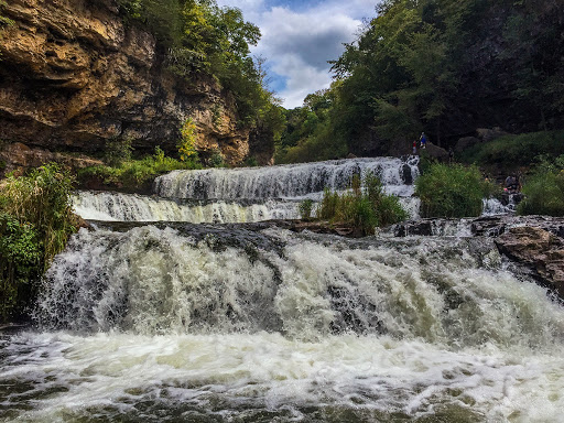 Willow River Falls in Hudson WI