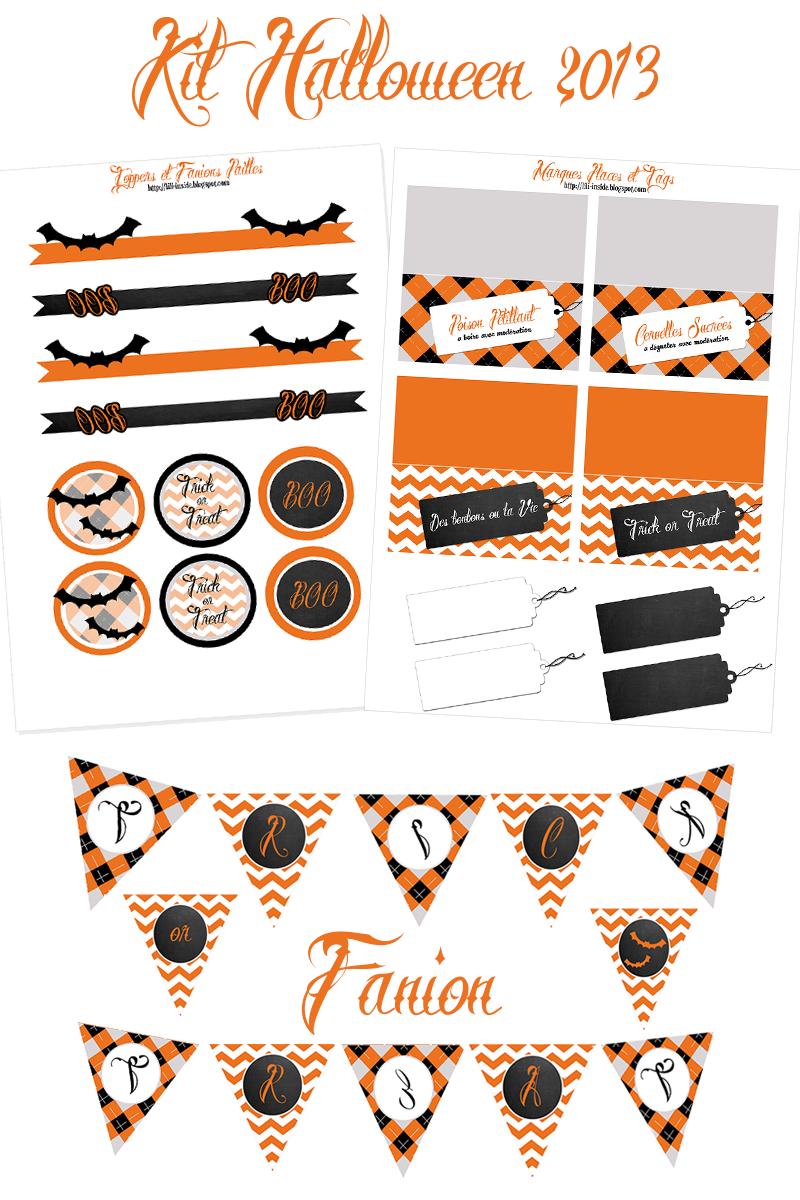 lili inside d coration halloween 2013 x un kit et des. Black Bedroom Furniture Sets. Home Design Ideas