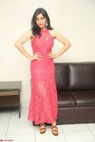 Sakshi Kakkar in Red Legsplit Sleeveless Gown at Dare movie Press meet ~  Exclusive 090.JPG
