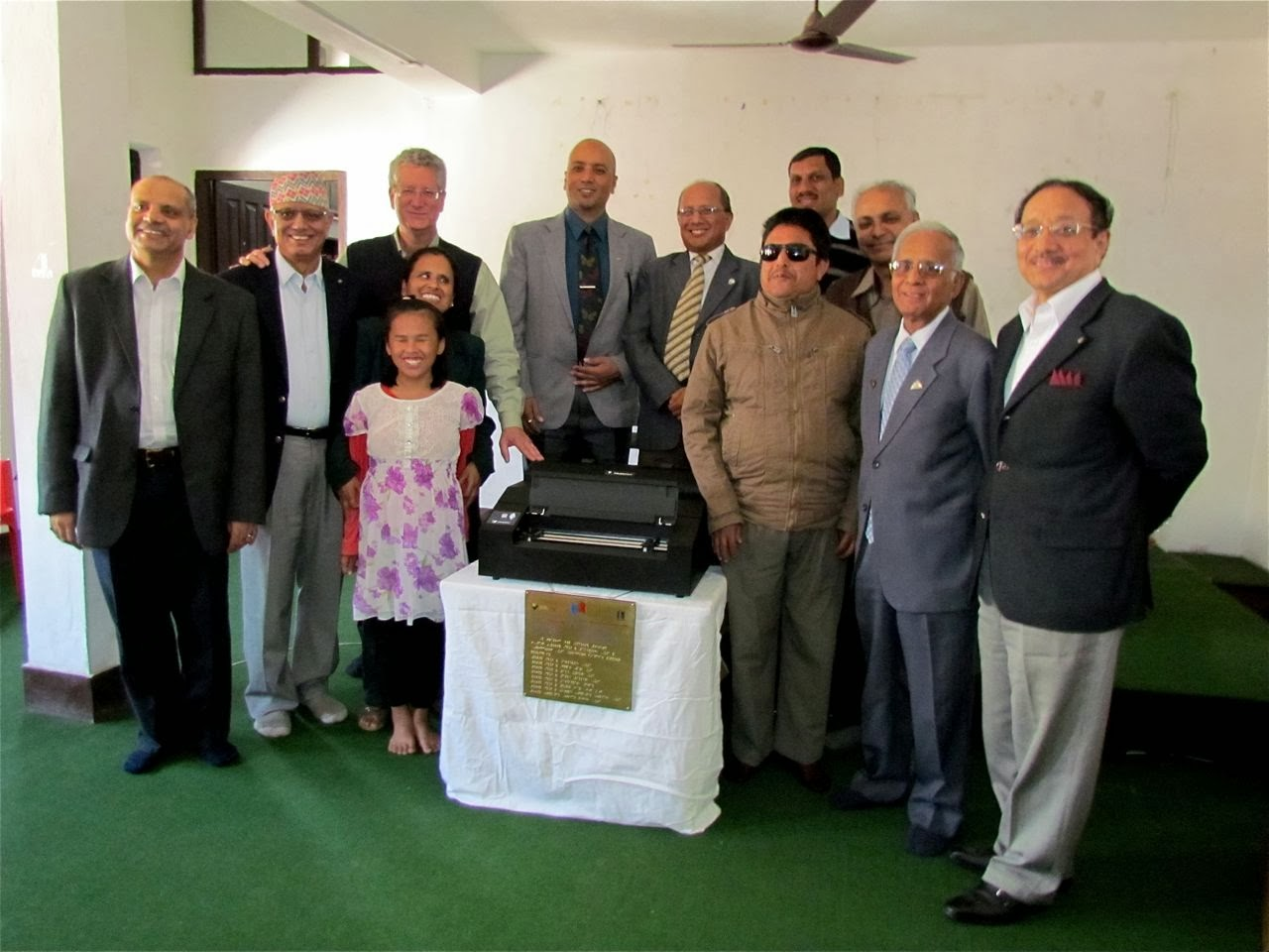 'hand-over' ceremony at NAWB