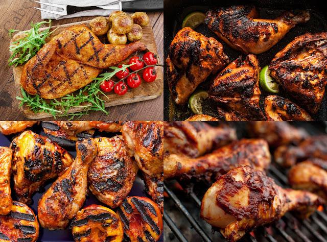 أحلى وأسهل الطرق لعمل الدجاج المشوي بأحلى عشرة تتبيلات مختلفة ورائعة في المنزل