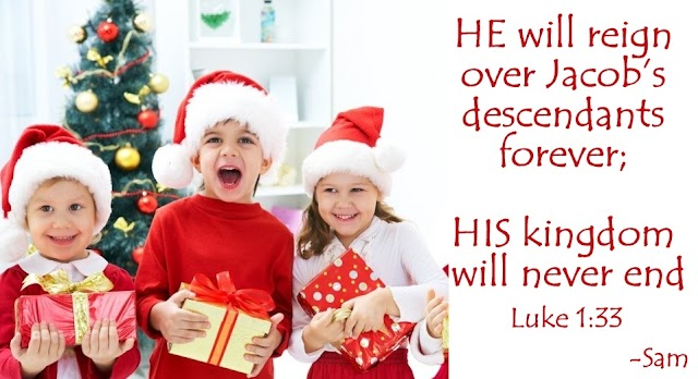 Christmas Kids Gifts Bible Quotes