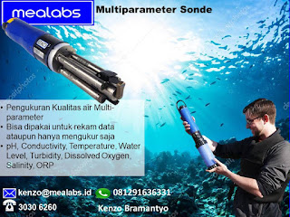 water quality multi parameter sonde