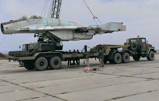 aeronaves que se encuentran en Crimea