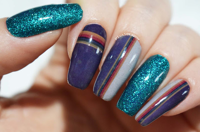Espionage Cosmetics 13th regeneration Doctor Who nerdy nail wraps