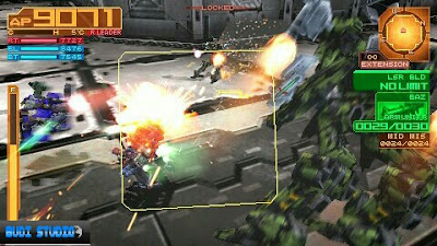 Armored Core Silent Line Portable PPSSPP