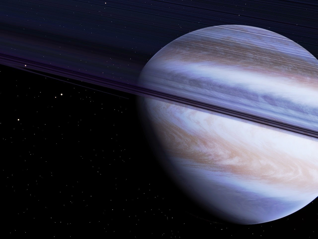Beyond Earthly Skies: An Oblate Giant Planet