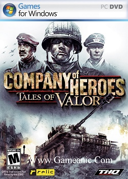 Company Of Heroes Tales Of Valor Game Cover