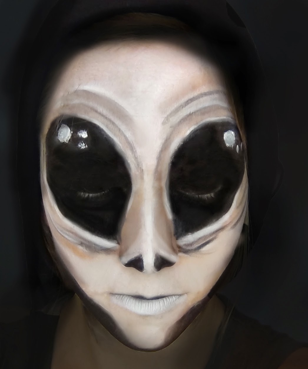 07c2d76fa76 Primp Powder Pout - a Make-Up Artist's Life: Alien Halloween Makeup ...