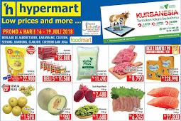 Katalog Promo Hypermart Weekday Terbaru 16 - 19 Juli 2018