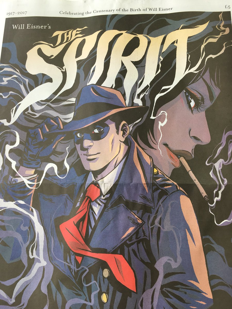 A Criminal Blog: Yes! The Spirit of Eisner Newspaper Comic ...