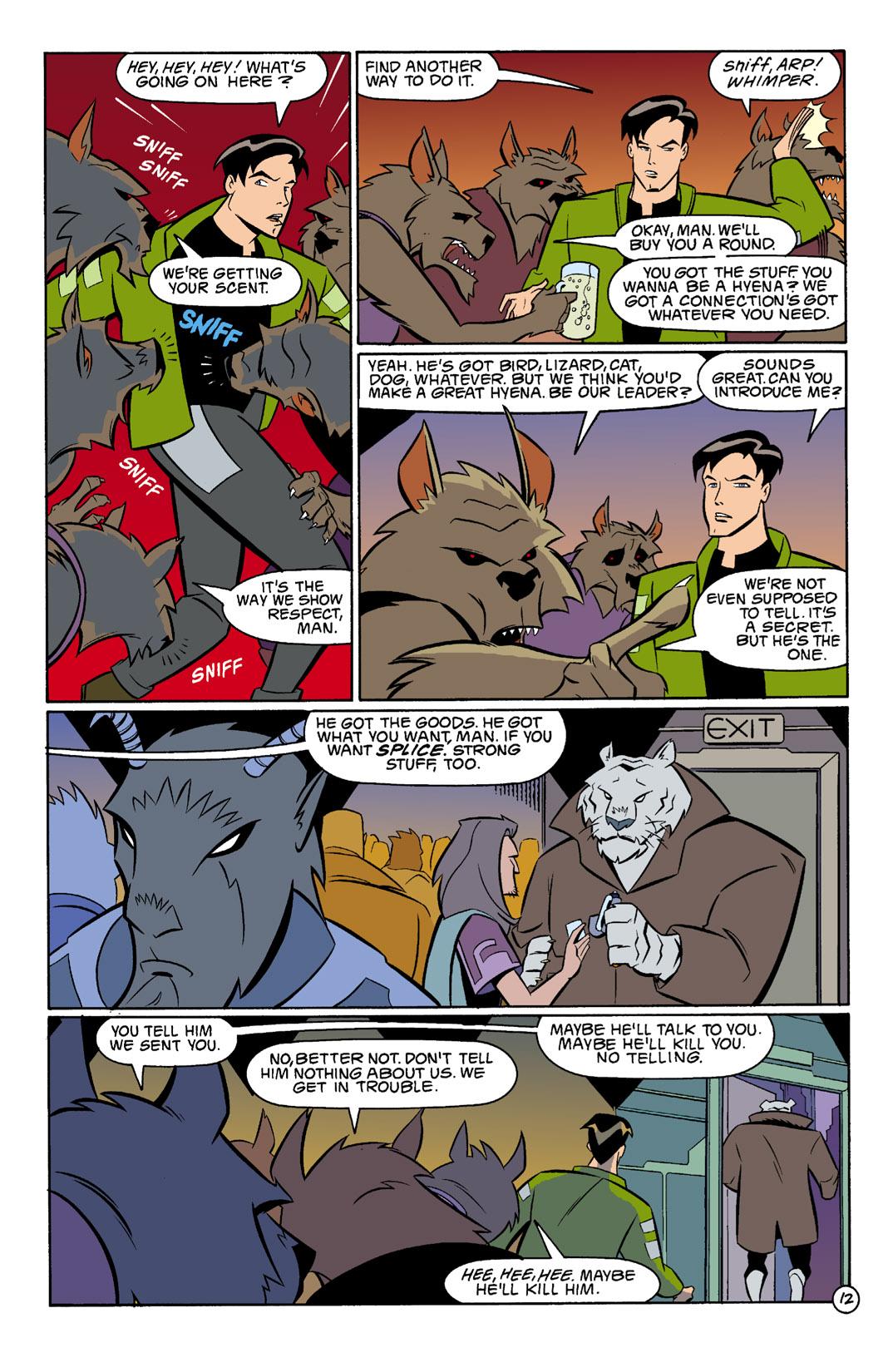 Batman Beyond [II] Issue #3 #3 - English 13