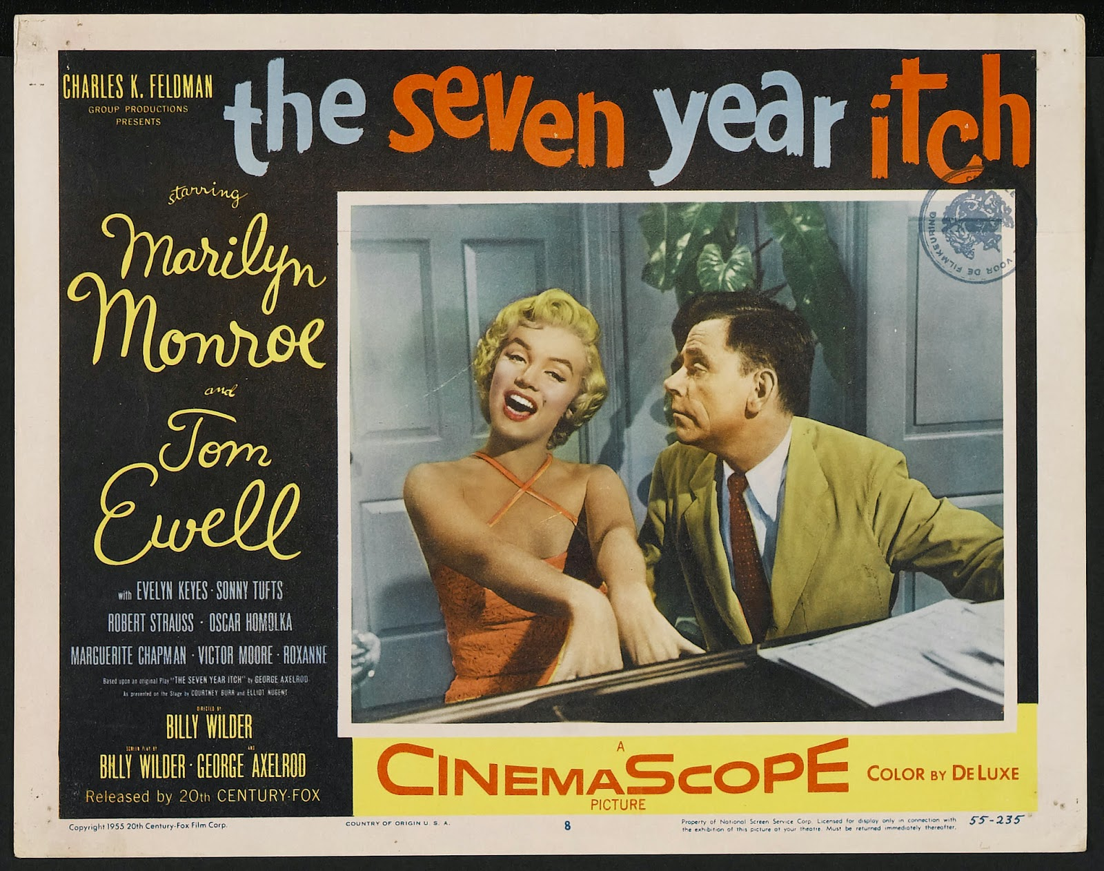 Happyotter The Seven Year Itch 1955